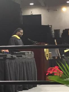 Relando Speaks at Commencement Oakland University 2016 1