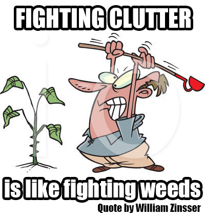 Image result for clutter meme