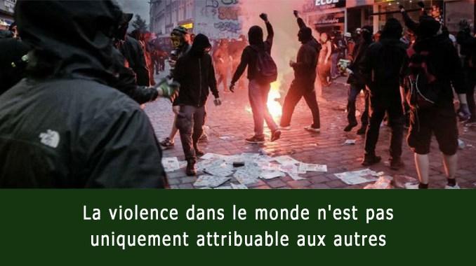Violence dans le monde