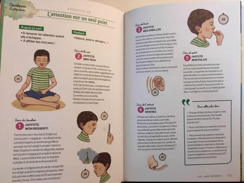La méditation avec les enfants ça marche ! - 5 sens