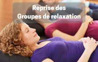 reprise groupes de relaxation