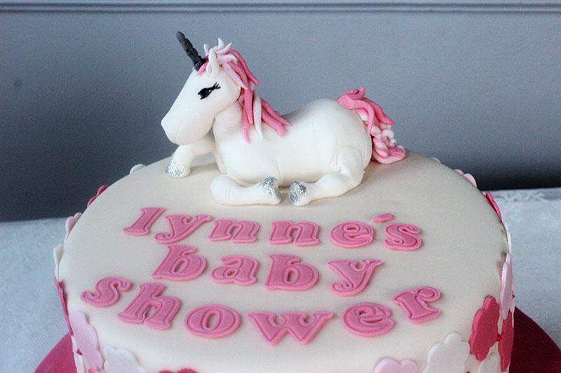 Unicorn Baby Shower Cake Bakery
