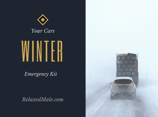 What do you need to a cars winter emergency kit?