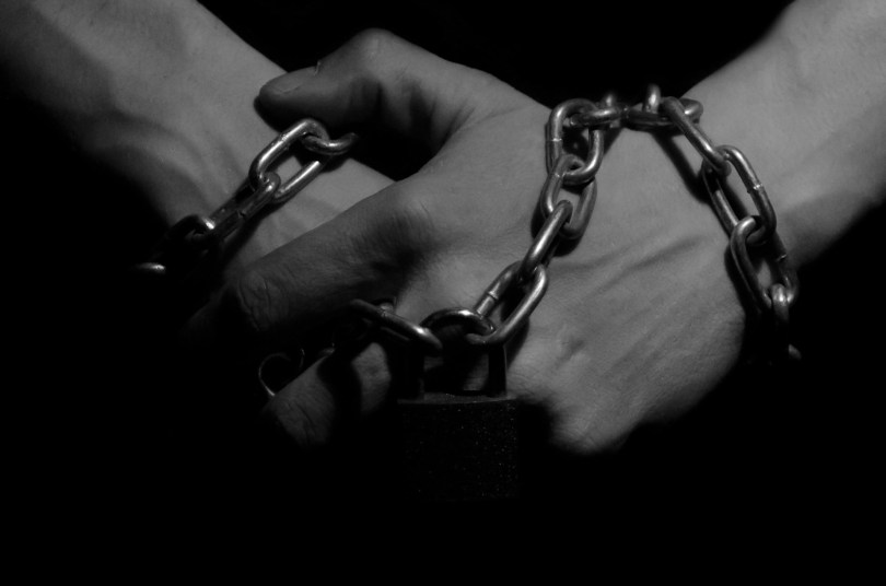 hands in chains 1024x678 Want to be a Man? Stop Playing the Victim.
