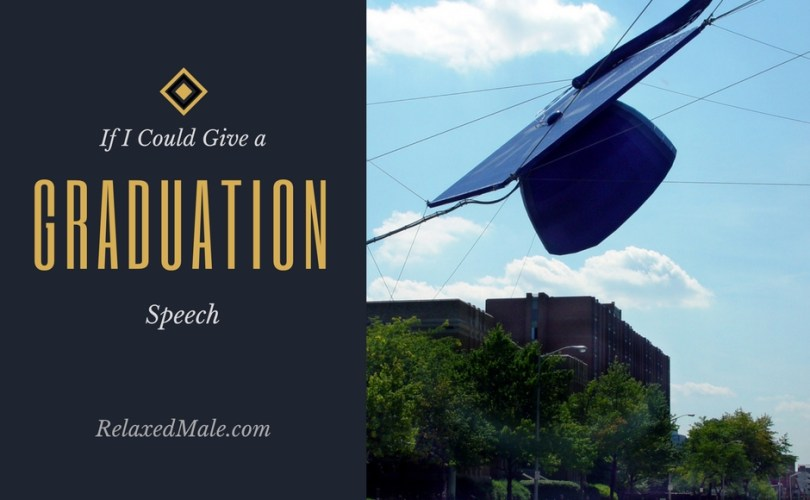 My graduation speech