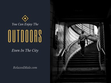 Get outdoors even if you are in the city