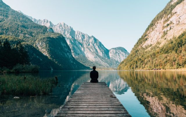 Serenity helps you focus when you are meditating.