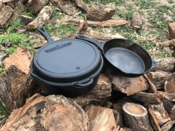 Camp chef cast iron cookware