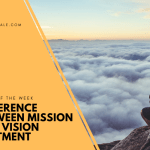 The Difference Between a Vision Statement and a Mission Statement