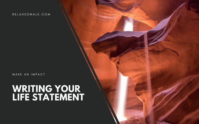You can write you LIfe statement