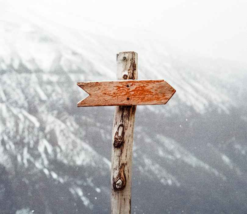 You can find your direction when you have standards