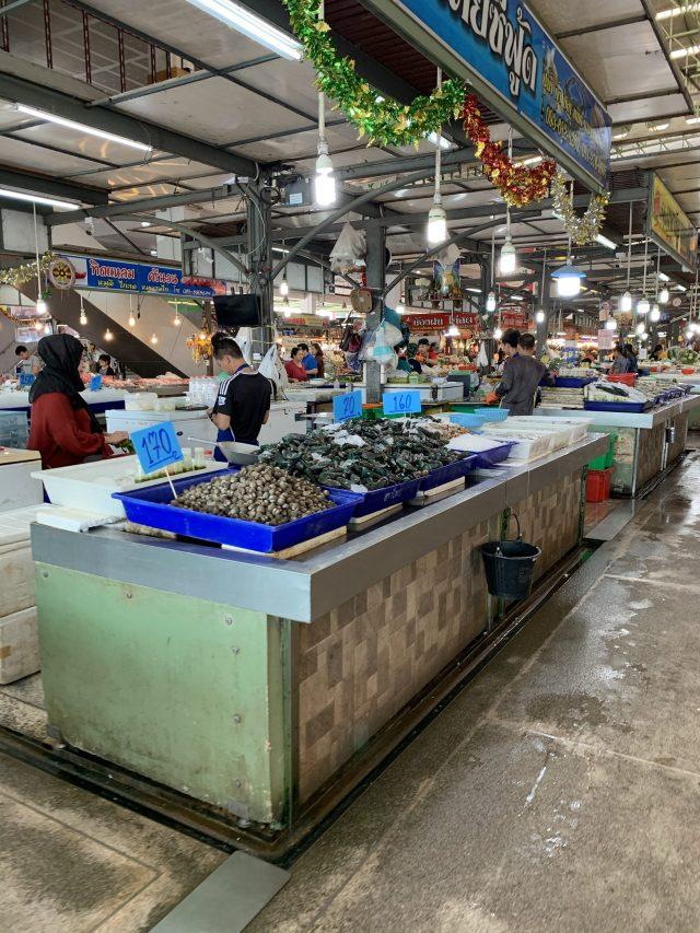 กุ้ง หอย ปู ปลา ตลาดไอยรา