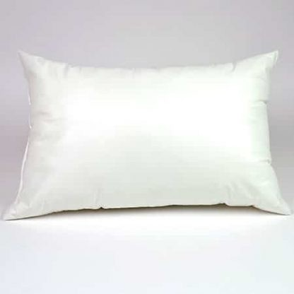 vinyl covered shoulder bolster pillow small