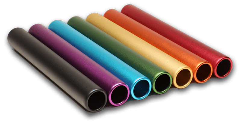Baton Base Colors - MATTE FINISH (RelayBatons.com)