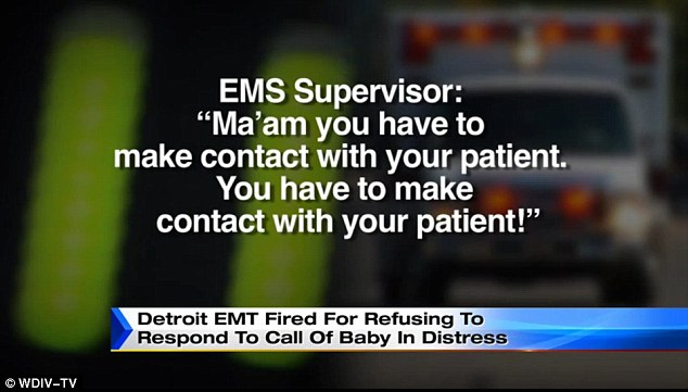 paramedic refuses to help