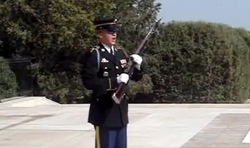 uniformed soldier