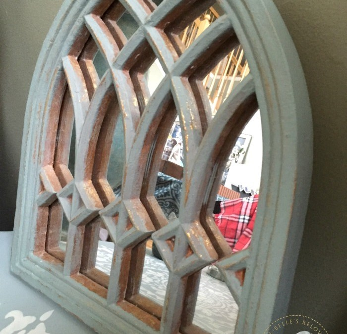 Easy mirror transformation with Rethunk Junk Paint