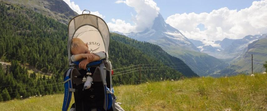 Reldin Adventures på alpvandring i Zermatt