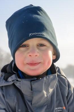 Reldin Adventures - Vintertältning vid Årsjön