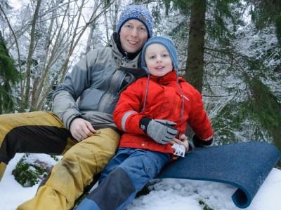 Reldin Adventures - En tur på Östra Järvafältet genom Hanstaskogen