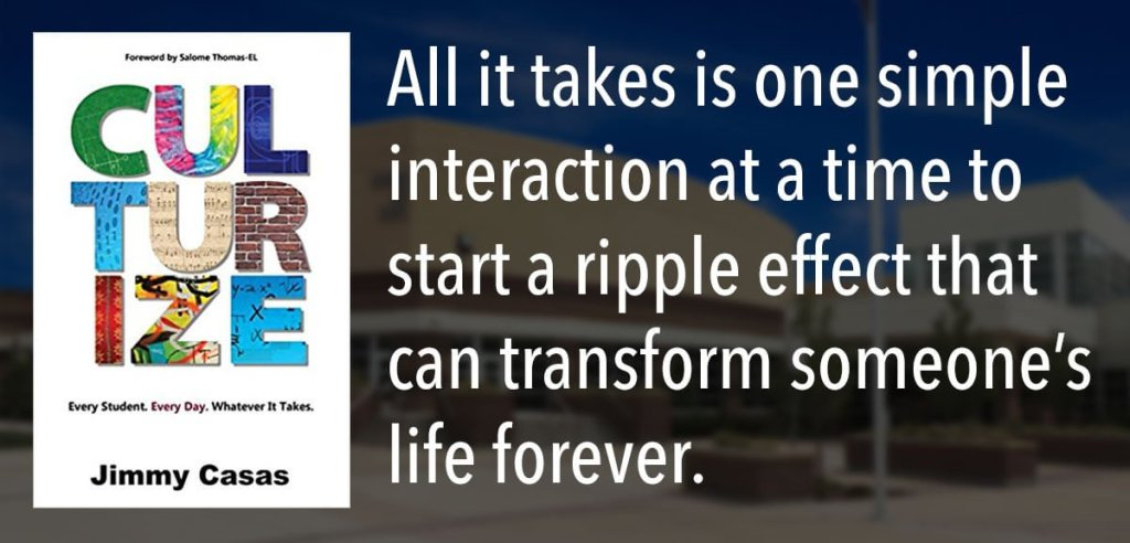 All it takes is one simple interaction at a time to start a ripple effect that can transform someone's life forever.