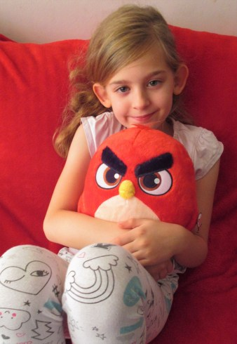 Angry Birds Feature Plush - Red