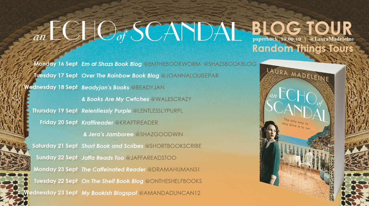 An Echo Of Scandal By Laura Madeleine Blog Tour