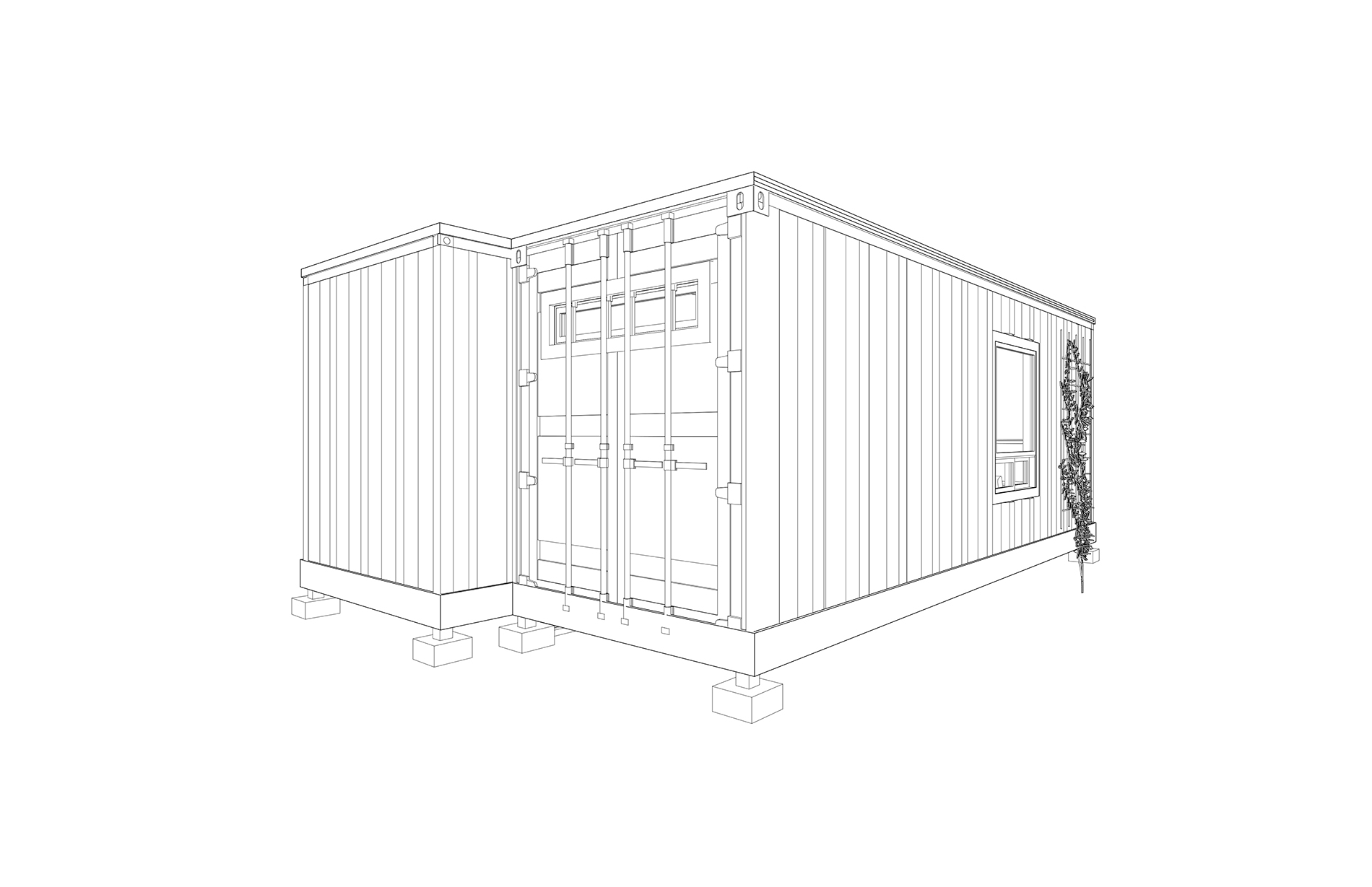 The S Adu Shipping Container Home Relevant Buildings