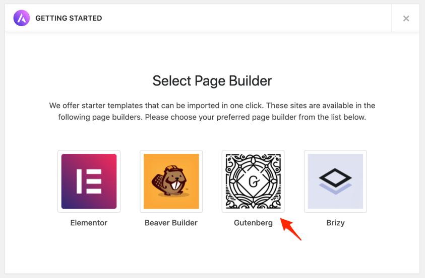 install website builder