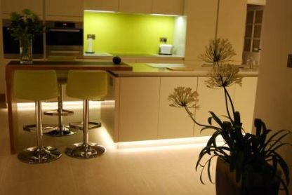 LED Tape Lighting used as Plinth Lighting
