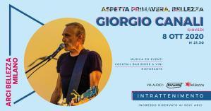 Aspetta Primavera, Bellezza: Giorgio Canali in concerto a Milano