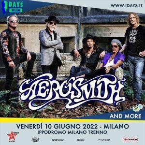 I-DAYS MILANO 2022: AEROSMITH confermati nella giornata del 10 giugno