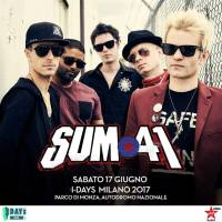 Sum 41 in concerto all' I-Days 2017 con Linkin Park, Blink-182 e Nothing But Thieves