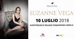 Suzanne Vega live all'Auditorium di Milano 10 Luglio