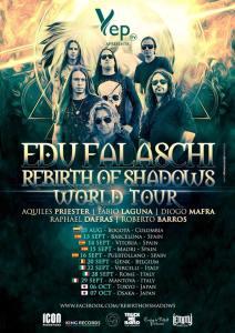 Edu Falaschi Rebirth Of Shadows TOUR 2018: presto tre date in Italia!