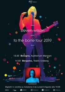 Steven Wilson, a febbraio due date in Italia a Bologna e Bergamo!