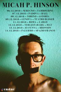 Micah P. Hinson: arriva in Italia a Dicembre con 8 date!