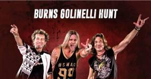 Burns Golinelli Hunt: live il prossimo 4 dicembre al Teatro Golden di Palermo