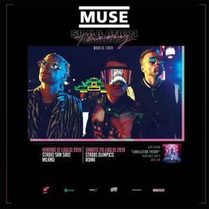 Muse: nuovo album «Simulation Theory» e due date italiane