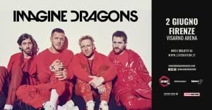 Imagine Dragons in Italia per l'UNICA TAPPA EUROPEA