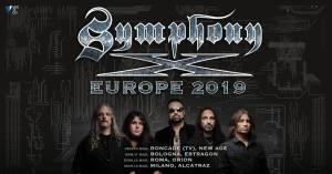 SYMPHONY X: Tour europeo con quattro date in Italia 2019