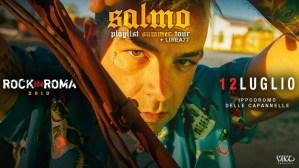 Salmo + Linea 77 live al Rock in Roma il 12 luglio