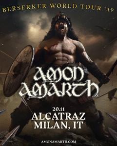 Amon Amarth: per gli svedesi una data a Milano