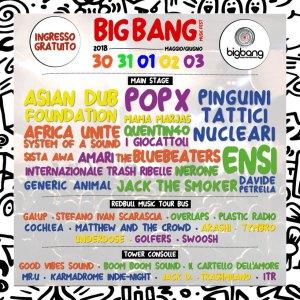 BIG BANG MUSIC FEST:  nuovi nomi si aggiungono alla line up della VII edizione del Festival
