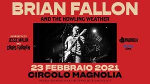Brian Fallon: rimandata la data in Italia di Maggio al 2021