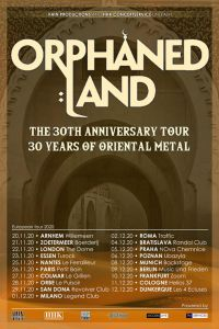 Orphaned Land, due date in Italia