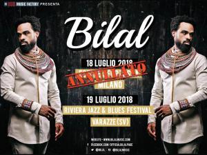 BILAL: la data di Milano è ANNULLATA