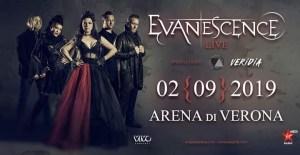 Evanescence @Arena di Verona il 2 Settembre