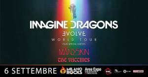MILANO ROCKS: anche Maneskin e The Vaccines nella giornata degli Imagine Dragons