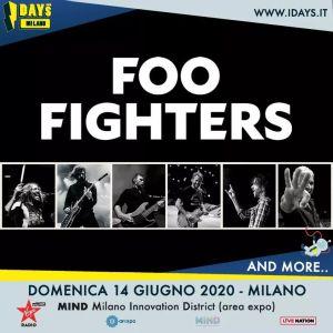 FOO FIGHTERS: I-DAYS MILANO – 14 GIUGNO 2020